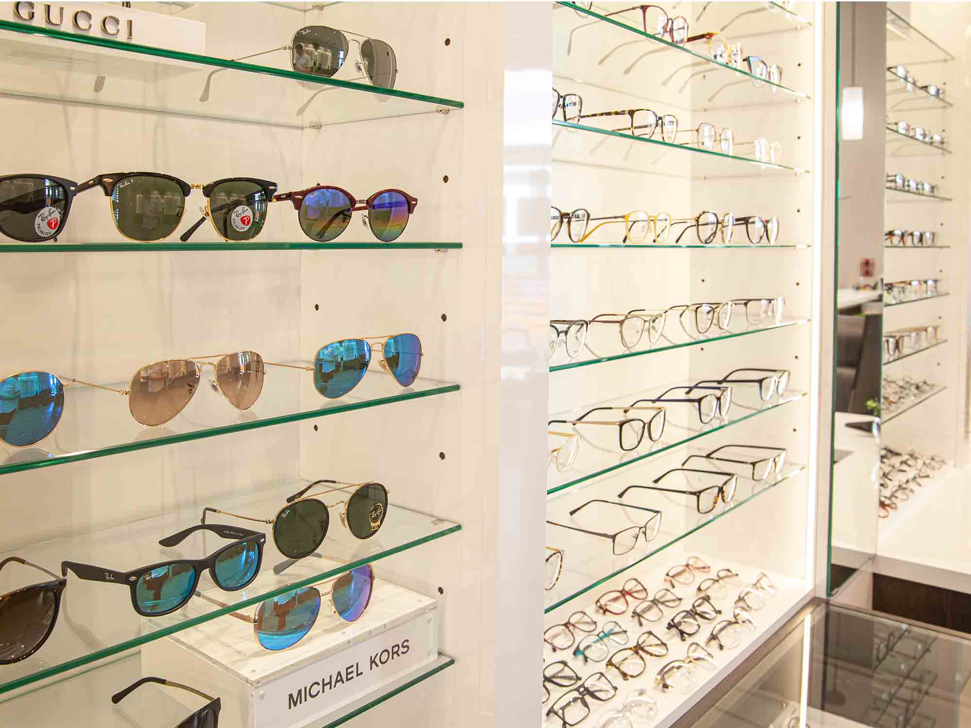 Marine View Optometry glasses and sunglasses